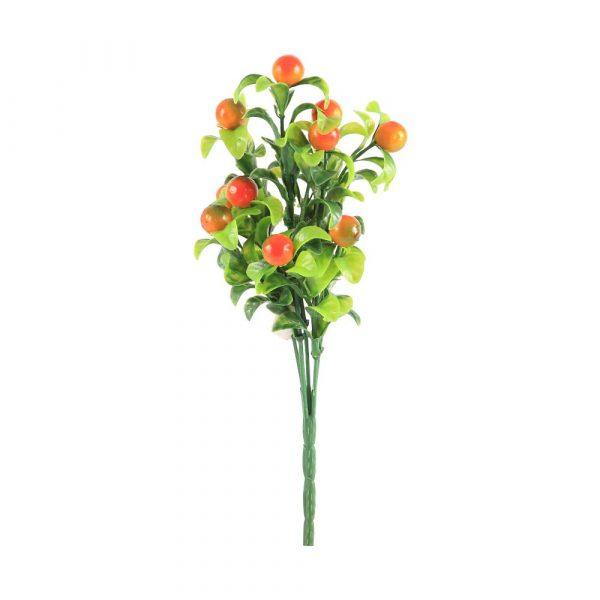 Bouquet Frutas X5 Plastic Laranja e Verde 22605-209 Grillo