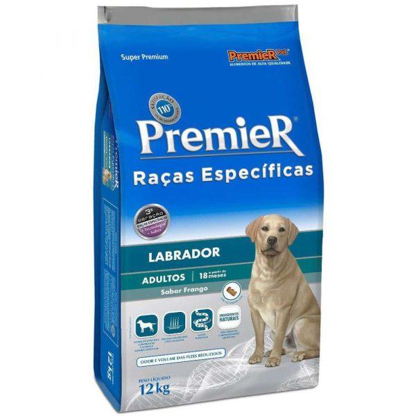 Ração Premier Raças Específicas Cães Adultos Labrador 12kg
