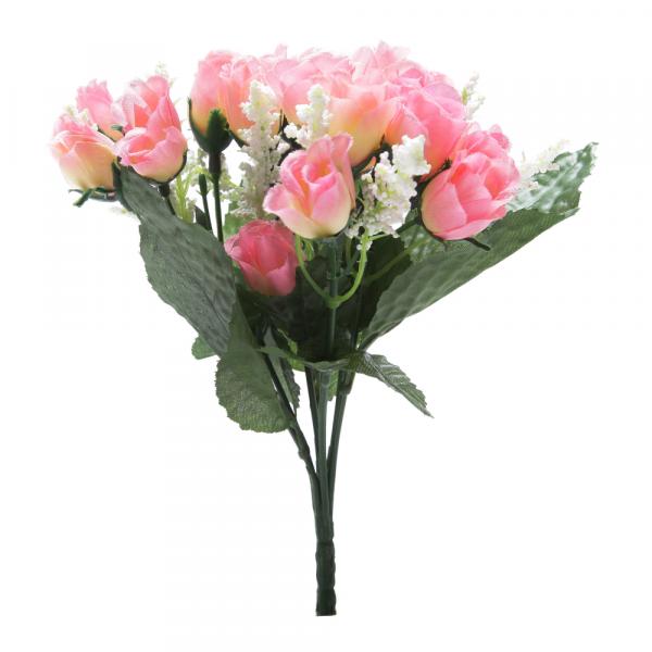 Bouquet MIini Botão X21 Rosa 24404-018