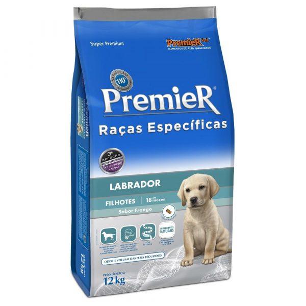 Ração Premier Raça Específica Cães Filhotes Labrador 12kg