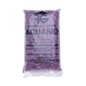 Cascalho Quartzo Roxo 834g