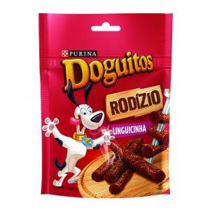 Petiscos Doguitos Purina Linguicinha 45g