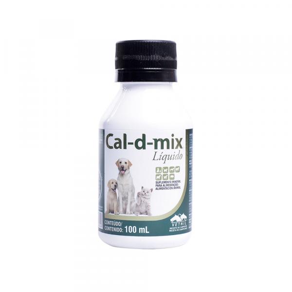 Cal-d-mix Líquido - Oral 100ml