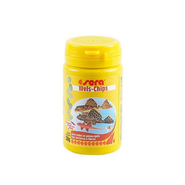 Ração para Peixe Sera Wels-Chips 38g