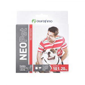 Antipulgas e Carrapatos NeoPet para Cães de 10,1 à 20kg