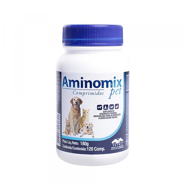 Aminomix Pet 180g - 120 comprimidos