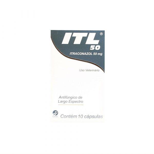 ITL Itraconazol 50mg Com 10 Comprimidos