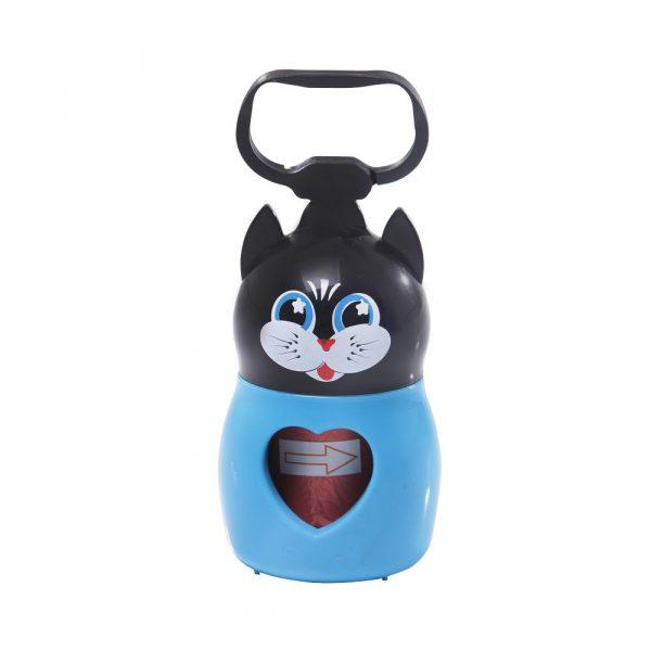 Porta Saco Ferplast Plástico Gato