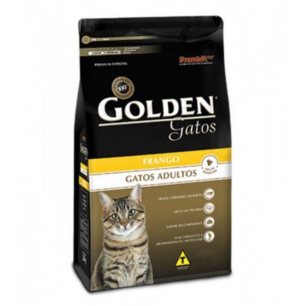 Ração Premier Golden Gatos Adultos Sabor Frango 10Kg
