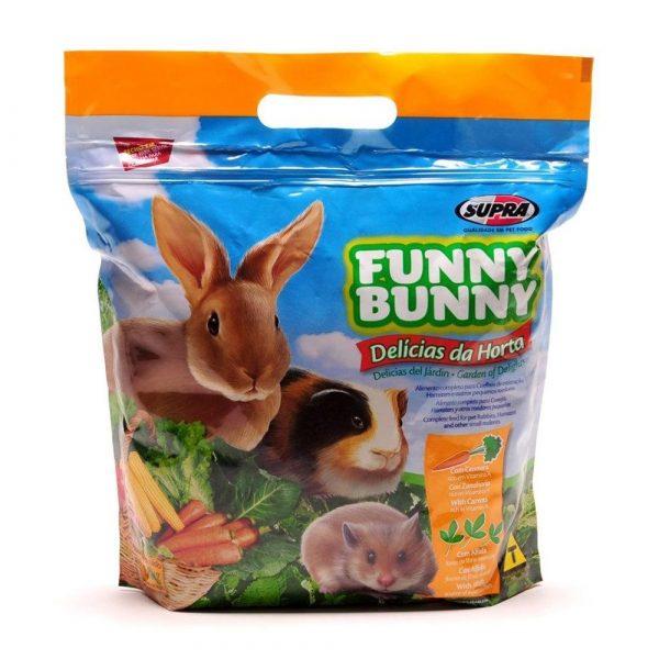 Ração Funny Bunny para Roedores Delícias da Horta 1,8Kg