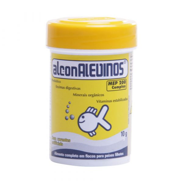 Ração para Peixe Alcon Alevinos Micro 10g