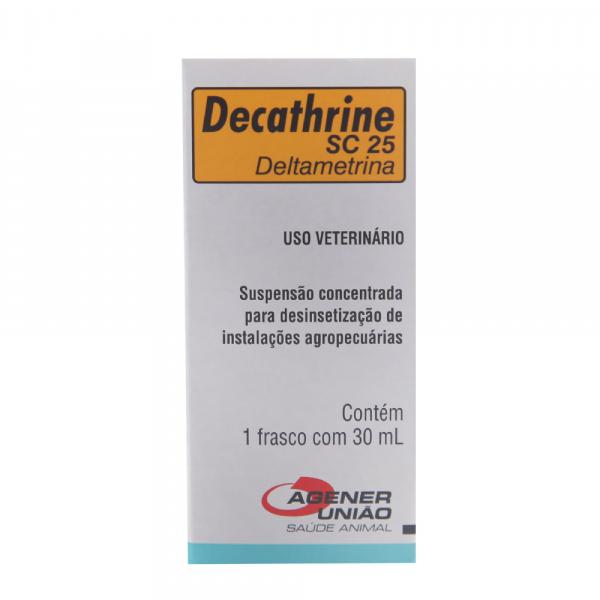 Decathrine SC25 Agener União 30mL