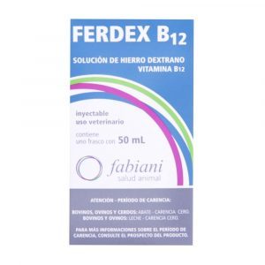 Ferdex B12 Injetável 50ml