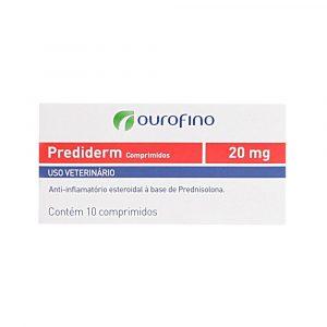Prediderm 20 mg com 10 Comprimidos