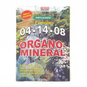 Adubo Organo- Mineral Fórmula 04.14.08 01,0kg