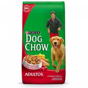 Ração Purina Dog Chow Adulto Raças Médias e Grandes 1kg