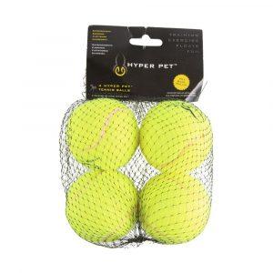 Bola para Lançador Verde Hyper Pet 4 Und