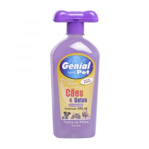 Shampoo Genial Pet para Cães e Gatos Paris - 500ml