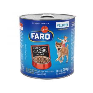Ração Faro para Cães Filhotes Sabor Carne 280g