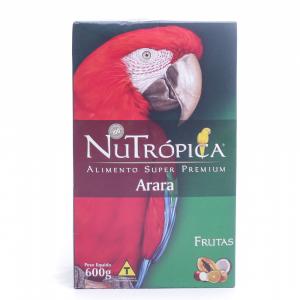 Ração NuTrópica para Arara Sabor Frutas 600g