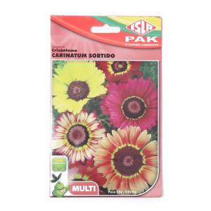 Sementes Isla Flores Crisântemo Carinatum Sortido 300mg