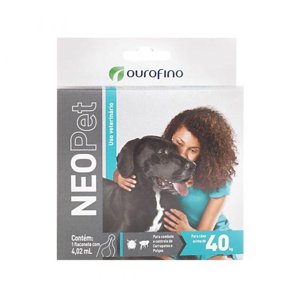 Antipulgas e Carrapatos NeoPet para Cães Acima de 40Kg