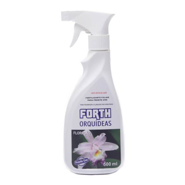 Fertilizante Forth Orquídeas Floração Pronto Para Uso 500ml