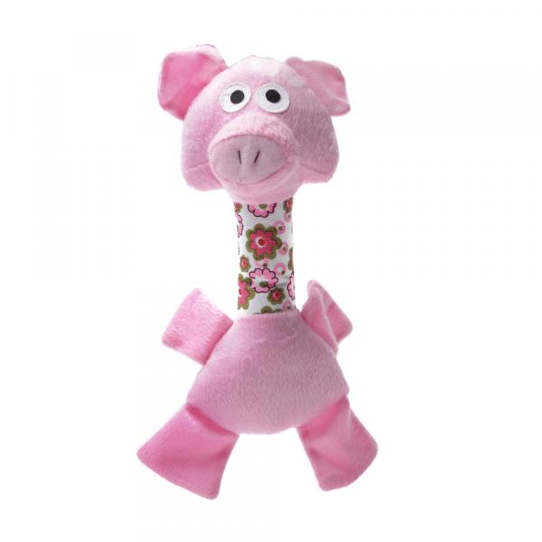 Brinquedo Porquinho de Pelúcia com Pescoço