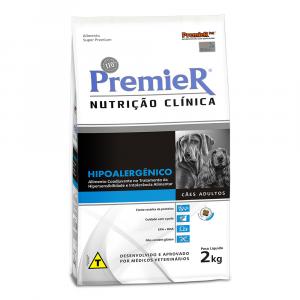 Ração Premier Hipoalergênico para Cães Adultos 2Kg