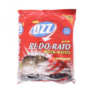 Raticida OZZ RI- DO- RATO Plus Cartucho de 20g