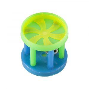 Brinquedo Cat Toy Carrossel Coloridos Com Guizo