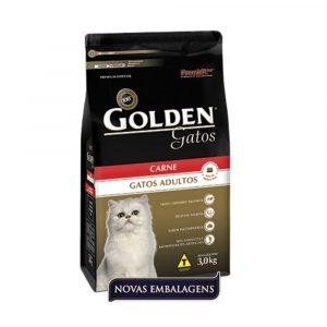 Ração Premier Golden Gatos Adultos Sabor Carne 1Kg