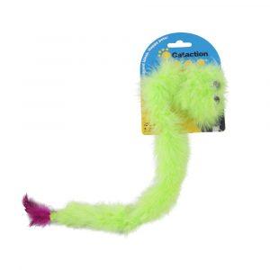brinquedo para gato pluma featherlite squeaky