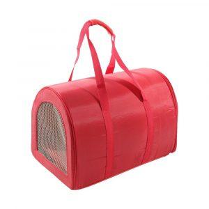 bolsa de transporte s?o pet bagl33 n03 vermelha