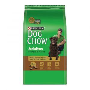 ra??o purina dog chow para c?es adultos sabor frango e arroz 3kg