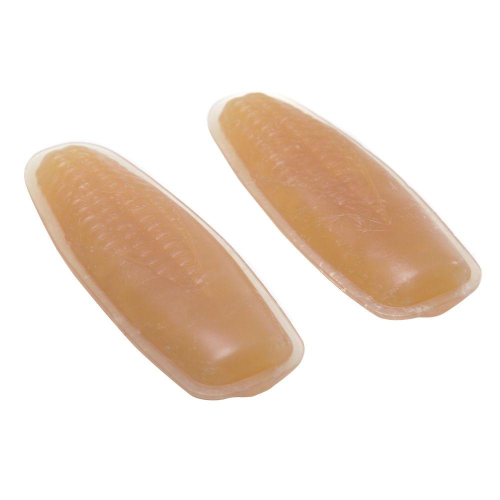 brinquedo mastig?vel good bitetiny & natura sabor e aroma artificial de milho com 2 unidades