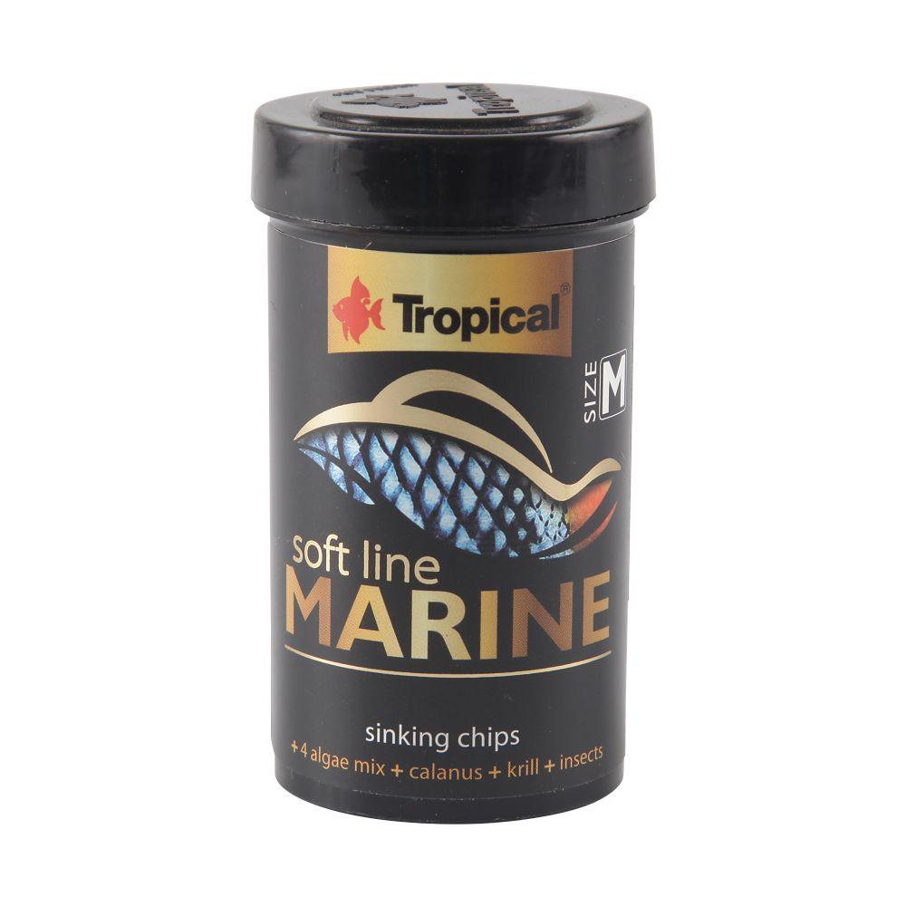 ra??o tropical soft line marine gr?nulos m?dios (granules) 52g