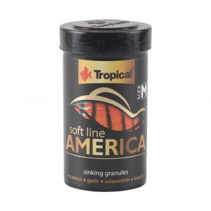 ra??o tropical soft line america gr?nulos m?dios (granules) 60g