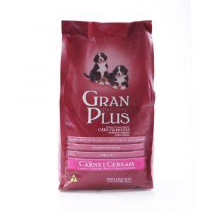 ra??o granplus para c?es filhotes sabor carne e cereais 15kg