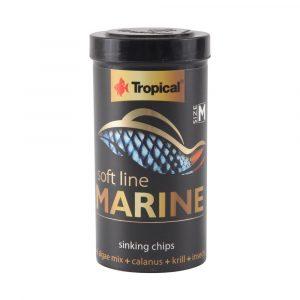 ra??o tropical soft line marine gr?nulos m?dios (granules) 130g