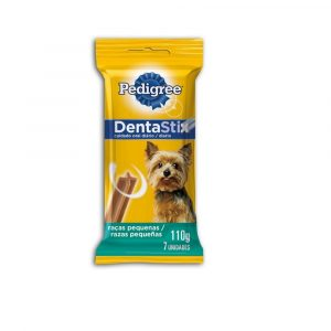 petisco pedigree dentastix para c?es adultos ra?as pequenas 110g