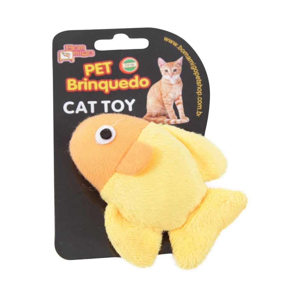 brinquedo para gato peixinho mimoso com catnip c8034 cat toy