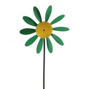enfeite de jardim vira flor