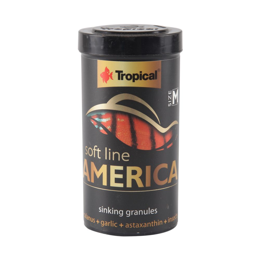 ra??o tropical soft line america gr?nulos m?dios (granules) 150g