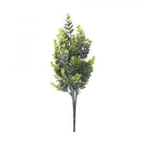 bouquet artificial eucalipto com powder plt x46 45cm