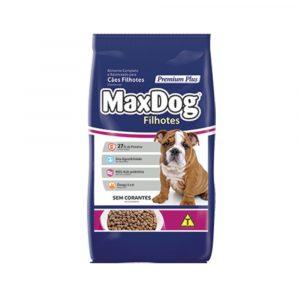 ra??o max dog para c?es filhotes 15kg