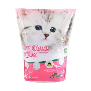 areia sanit?ria pet like cristais de s?lica em gel 0,52 mm 1,8 kg natural