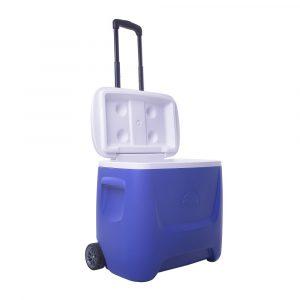 caixa t?rmica igloo island breeze de 26l roller 030870 azul com branco